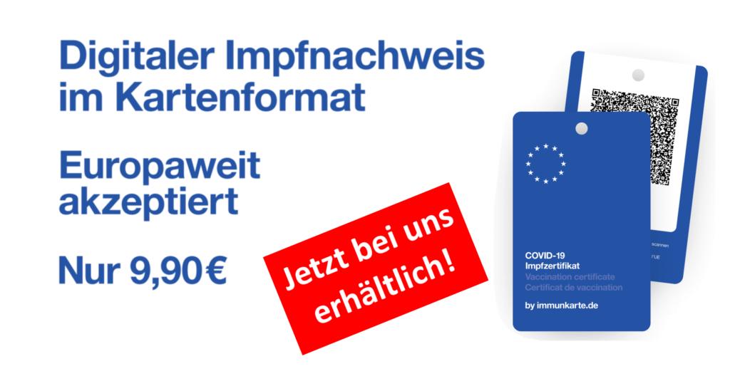 Immunkarte für 9,90 EUR in der Post-Apotheke kaufen
